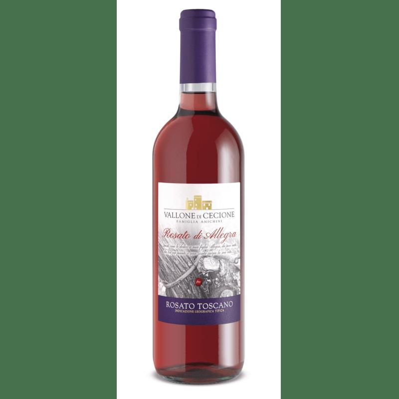 Bottiglia di Rosato di Allegra